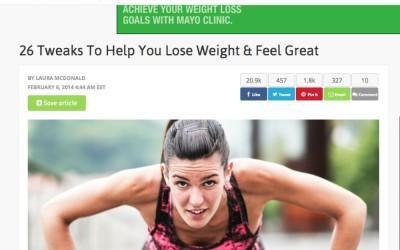 26 Tweaks To Help You Lose Weight