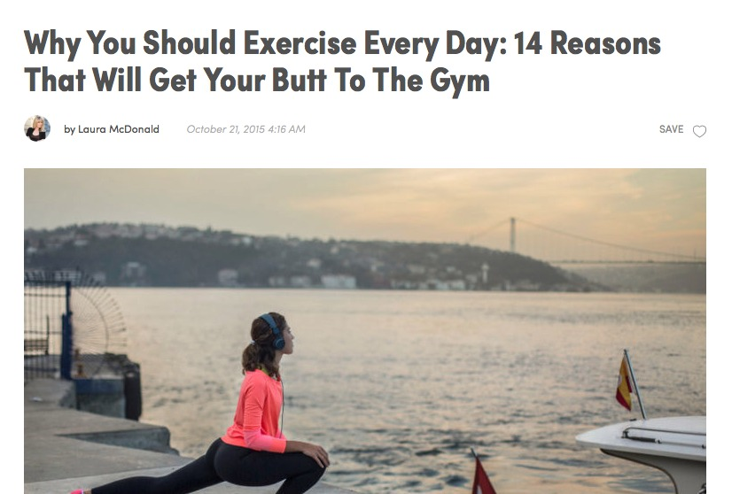 14 Reasons To Get Moving
